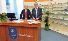 Taglio del nastro per la Farmacia didattica dell'Università di Camerino