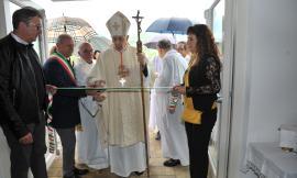 Caldarola, inaugurata la nuova Chiesa: presente il Cardinale Menichelli (FOTO)