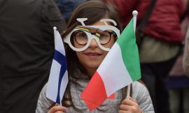 Corridonia, il foto-racconto della cerimonia d'apertura della Coppa del Mondo di paraciclismo
