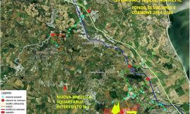 Recanati, al via il progetto per la nuova strada di collegamenti tra Squartabue e Acquaviva di Castelfidardo