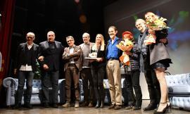 Premio Ghergo, Sgarbi saluta Montefano (FOTO)