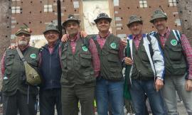 Il Gruppo Alpini di Recanati e Castelfidardo presente all'adunata del Centenario