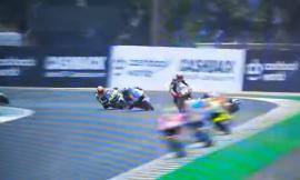 GP di Francia, commozione cerebrale per Lorenzo Baldassarri dopo la caduta