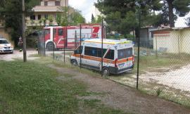 Montecosaro, si rovescia con la carrozzina motorizzata: grave un uomo del posto (FOTO)