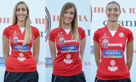 Volley, l'Helvia Recina saluta e ringrazia tre stimate giocatrici: Gobbi, Barbolini e Partenio
