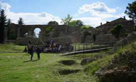 """Macerata, l'area archeologica Helvia Recina diventa """"social"""": ecco il progetto degli studenti dell'ITE"""