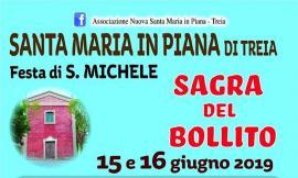 Treia, sabato a Santa Maria in Piana al via la Festa di San Michele: ecco il programma