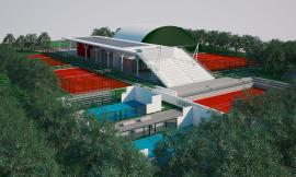 Nuovo centro tennis per Tolentino: approvato il progetto in zona Pace