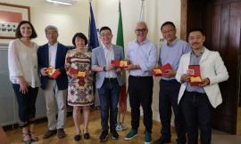 Delegazione di Shanghai in visita a Macerata, la Fondazione Padre Matteo Ricci stringe i legami con la Cina