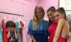 Morrovalle, le gemelle Feleppa lanciano la linea di abbigliamento junior al Pitti Bimbo