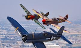 Aerei della Seconda Guerra Mondiale in mostra (FOTO)