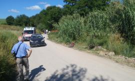 Pollenza, auto travolge bici: grave un 80enne (FOTO)