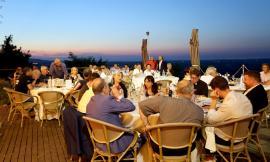 A Pollenza, alla presenza del Vescovo Massara, la cena per suggellare la perfetta riuscita della visita del Santo Padre a Camerino (FOTO)