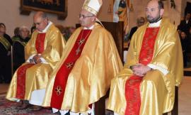 """Nuova scuola a Muccia, Andrea Bocelli ringrazia il vescovo Massara: """"Felice di averla avuta al nostro fianco"""""""