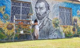 """Spunta un """"Van Gogh"""" ad Urbisaglia: il capolavoro dell'artista Simona Tesei (FOTO)"""