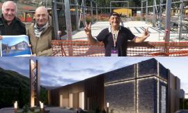 A Muccia rinasce la speranza grazie alla nuova chiesa donata dal CNS di Bologna