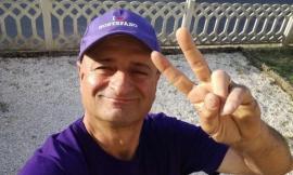 Montefano piange Ivano Peloni, il cordoglio della squadra viola