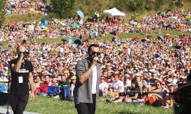 RisorgiMarche, Marco Mengoni conquista i Sibillini: in 20mila per assistere al concerto (FOTOGALLERY e VIDEO)
