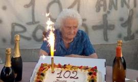 Treia, grande festa per Rosa Balestra che spegne 102 candeline