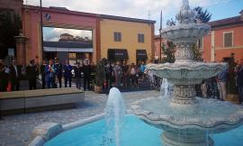 Tolentino, la nuova veste di piazza Martiri di Montalto (FOTO)