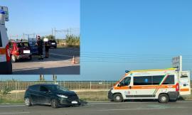 Civitanova, tamponamento tra due auto lungo la Statale 16: due giovani al pronto soccorso