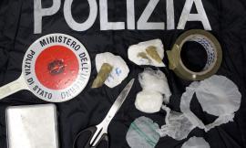 Potenza Picena, la Polizia scova un deposito di droga: scatta la denuncia