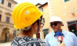 """""""2016-2019, Tre anni dopo"""". Camerino, Sandro Sborgia: """"La città deve subito essere restituita alla gente"""" (FOTO E VIDEO)"""