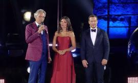 Fondazione Andrea Bocelli, grande successo su Rai Uno per la serata di beneficenza per la nuova Accademia della Musica a Camerino