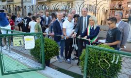 Restyling per i campi da tennis di San Severino: inaugurato il nuovo manto in resina acrilica
