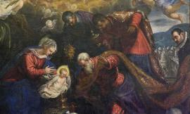 """Macerata, restaurata la tela """"Adorazione dei Magi"""" del Tintoretto: sabato la presentazione"""