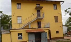San Severino, post-sisma: dopo i lavori torna agibile un casolare di campagna