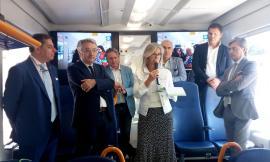 """""""Viaggia con noi"""", un treno speciale per raccontare la mobilità nelle Marche"""