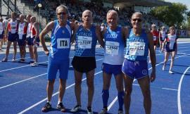 La Sef Macerata brilla ai Campionati europei di Atletica Master