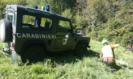 Cerca funghi e cade in un dirupo: soccorso un 56enne di Corridonia (FOTO)
