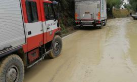 Bomba d'acqua nel maceratese: numerosi i disagi alla circolazione