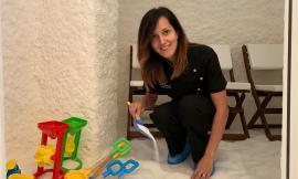 Ambra Bacciani porta la terapia del Sale a Tolentino