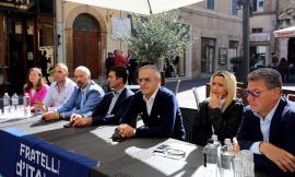 Macerata, Simone Livi e Francesca D'Alessandro aderiscono a Fratelli d'Italia (FOTO)