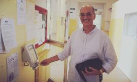 Dopo 28 anni in ospedale il Dottor Gabriele Parigi va in pensione