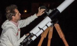 Dall'area Sae di Gagliole si osserva Mercurio