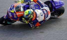 Moto2 Gp Teruel,  Baldassarri scivola a sei giri dalla fine: trionfa Lowes