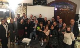 Incontro tra i Giovani Imprenditori di Confindustria e il pallavolista Giacomo Sintini