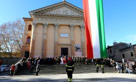 Macerata, i Vigili del Fuoco celebrano Santa Barbara nel ricordo dei colleghi morti ad Alessandria (FOTO)