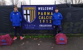 Due giovanissimi giocatori del Montemilone Pollenza convocati dal Parma