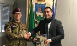 I Paracadutisti della Folgore lasciano Pieve Torina, i ringraziamenti del sindaco