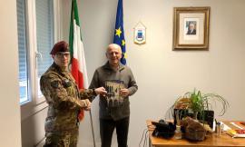 La Folgore saluta Caldarola: cambio della guardia tra i capitani Covuccia e Orlandi