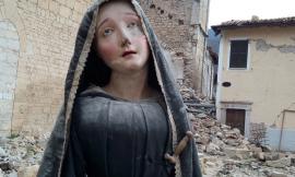 San Severino, una mostra per ricordare il dramma del sisma attraverso le immagini di statue religiose