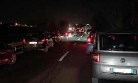Code e rallentamenti in superstrada: tamponamento tra sei veicoli