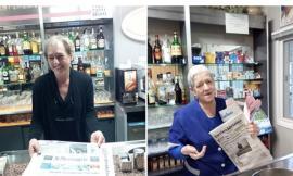 Castelsantangelo sul Nera, coppia dal cuore d'oro: a 3 anni dal sisma tornano i quotidiani nei bar