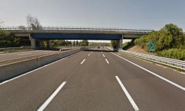"""Porto Recanati - Sp 571 """"la Regina"""": chiuso il cavalcavia sull'autostrada"""