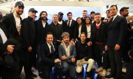 Tombolini celebra la partnership con l'As Roma al Pitti Uomo (FOTO)